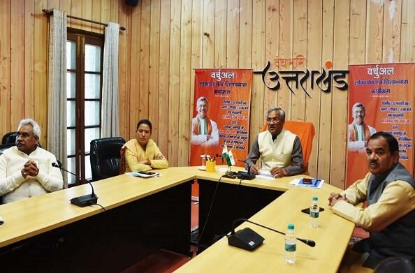 अल्मोड़ा: वर्चुअल माध्यम से सीएम ने सल्ट विधानसभा की विभिन्न विकास योजनाओं का किया लोकार्पण और शिलान्यास