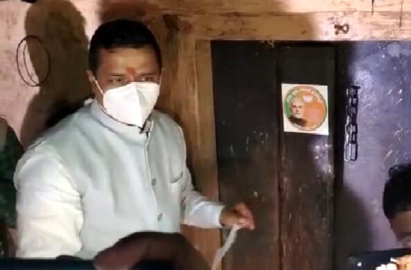 पौड़ी: अपने पैतृक गांव नकोट पहुंचे राज्यसभा सांसद अनिल बलूनी