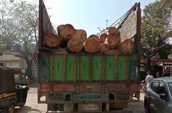 कोटद्वार: पेड़ों के अवैध कटान पर तहसीलदार ने चलाया अभियान, एक ट्रक सीज