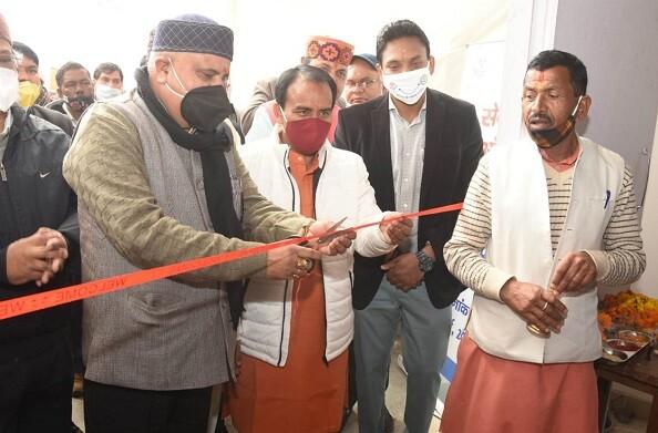 धन सिंह रावत ने किया राजकीय पॉलिटैक्निक गैरसैंण में सेन्टर ऑफ एक्सीलेंस इन इम्पलाइमेंट का उद्घाटन