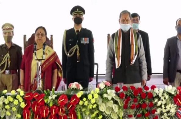 तीरथ कैबिनेट में 11 मंत्रियों ने ली शपथ, धन सिंह, रेखा आर्य, यतीश्वरानंद को राज्यमंत्री का स्वतंत्र प्रभार