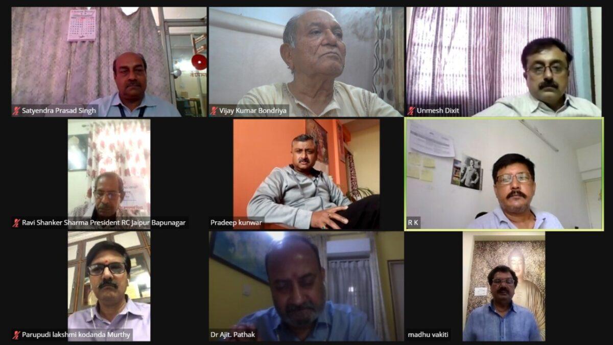पब्लिक रिलेशन सोसाइटी ऑफ इण्डिया ने मनाया राष्ट्रीय जनसम्पर्क दिवस