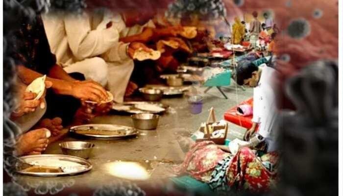 महाराष्ट्र के बुलढाणा जिले में तेरवीं का भोज पड़ा महंगा ,गांव में कोरोना विस्फोट