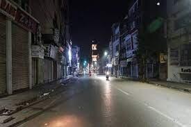 अयोध्या में रात 8 से सुबह 7 बजे तक नाइट कर्फ्यू, सख्ती से होगा पालन
