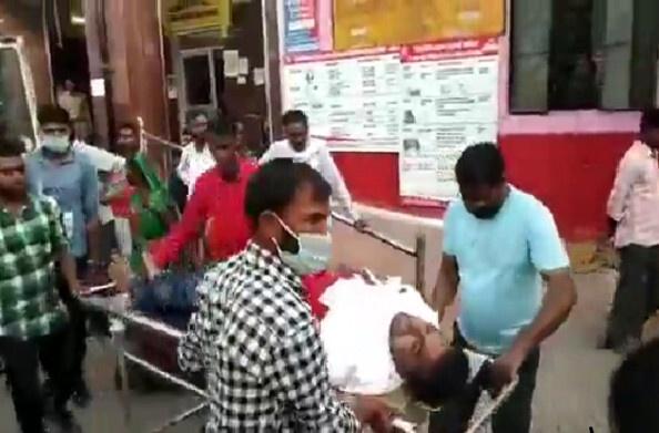 अयोध्या : प्रधान का चुनाव लड़ रहे प्रत्याशी पर जानलेवा हमला