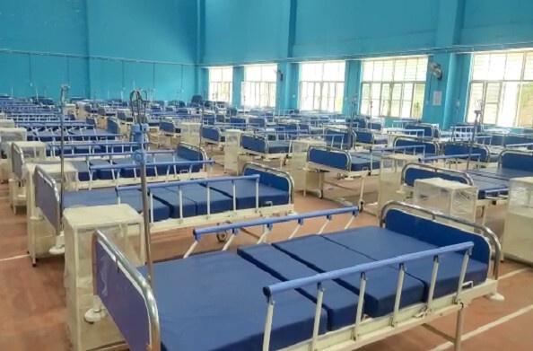 नैनीताल: गुरुवार से मिनी स्टेडियम में शुरु होंगे 100 बेड, स्टेडियम में ऑक्सीजन सहित 200 बेड की है व्यवस्था