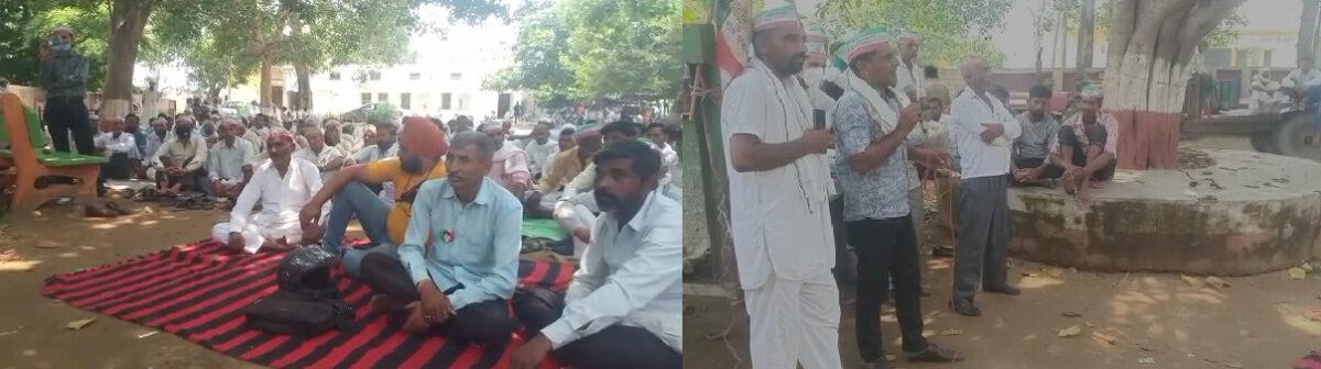 चांदपुर: बाढ़ के पानी से तबाह हुई किसान की फसल , किसानों ने धरना प्रदर्शन कर मांगा मुआवजा