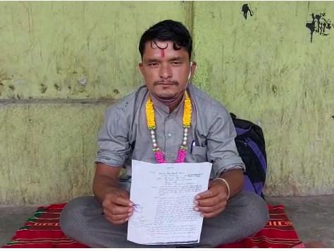 पिथौरागढ़ : 14 सूत्रीय मांगों को लेकर भूख हड़ताल पर बैठें हैं बलवंत सिंह