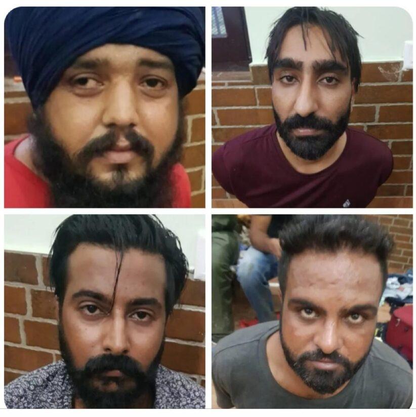 उधमसिंहनगर : उत्तराखंड की शांत वादियों में पनप रहा अपराध, पंजाब के 3 खूंखार अपराधियों को पुलिस ने किया गिरफ्तार