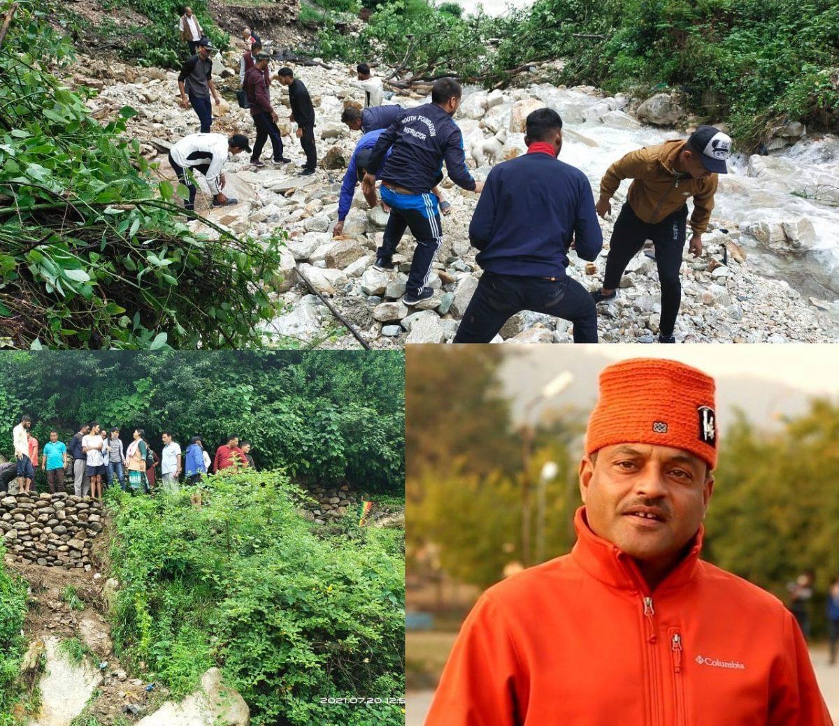 उत्तरकाशी दौरे पर निकले आप नेता कर्नल अजय कोठियाल, सभी आपदाग्रस्त इलाकों का करेंगे दौरा