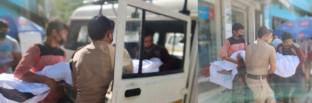 पौड़ी पुलिस ने की मानवता की मिसाल पेश,असहाय महिला की मदद के लिए बढ़ाए हाथ