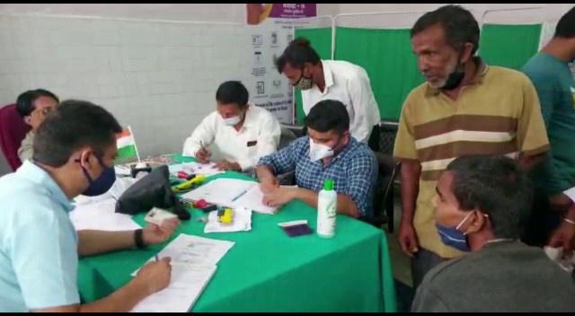 पिथौरागढ़- थल के प्राथमिक स्वास्थ्य केंद्र गोचर में लगे दिव्यांग स्वास्थ्य शिविर में 16 लोगों को दिव्यांग प्रमाण पत्र जारी