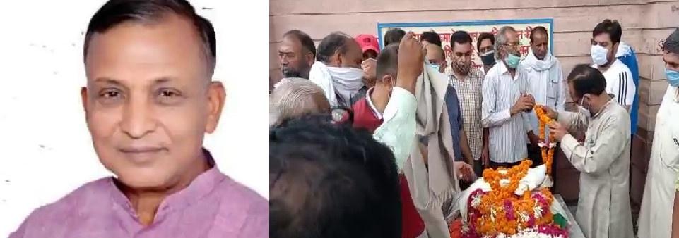हरिद्वार: भाई जी के नाम से विख्यात पूर्व विधायक व कांग्रेसी नेता अंबरीश कुमार का देर रात निधन