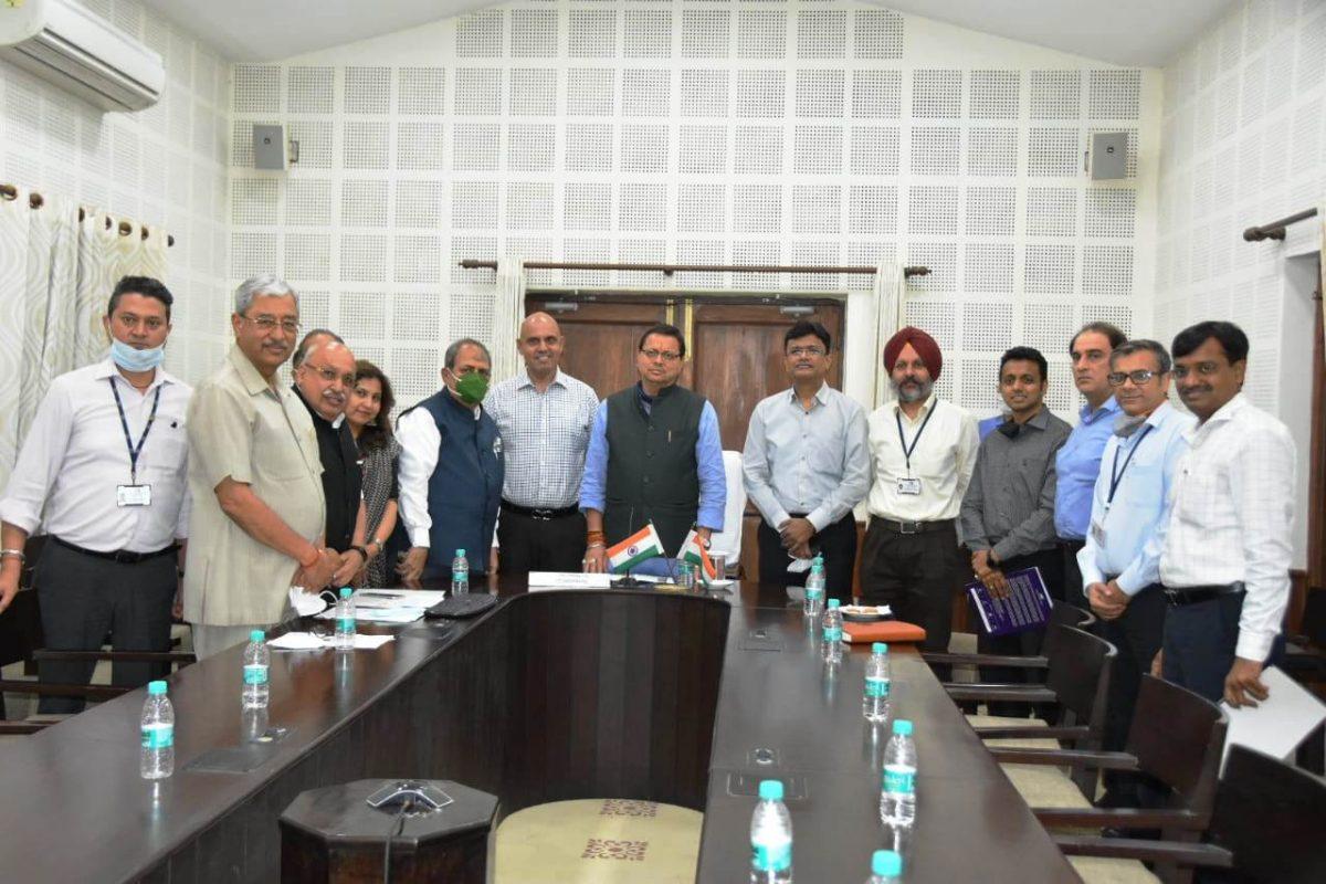 प्रदेश में उद्योगों को दिया जायेगा बढ़ावा, बनायी जायेगी उद्योगों के अनुकुल और अधिक कारगर नीतिः मुख्यमंत्री धामी