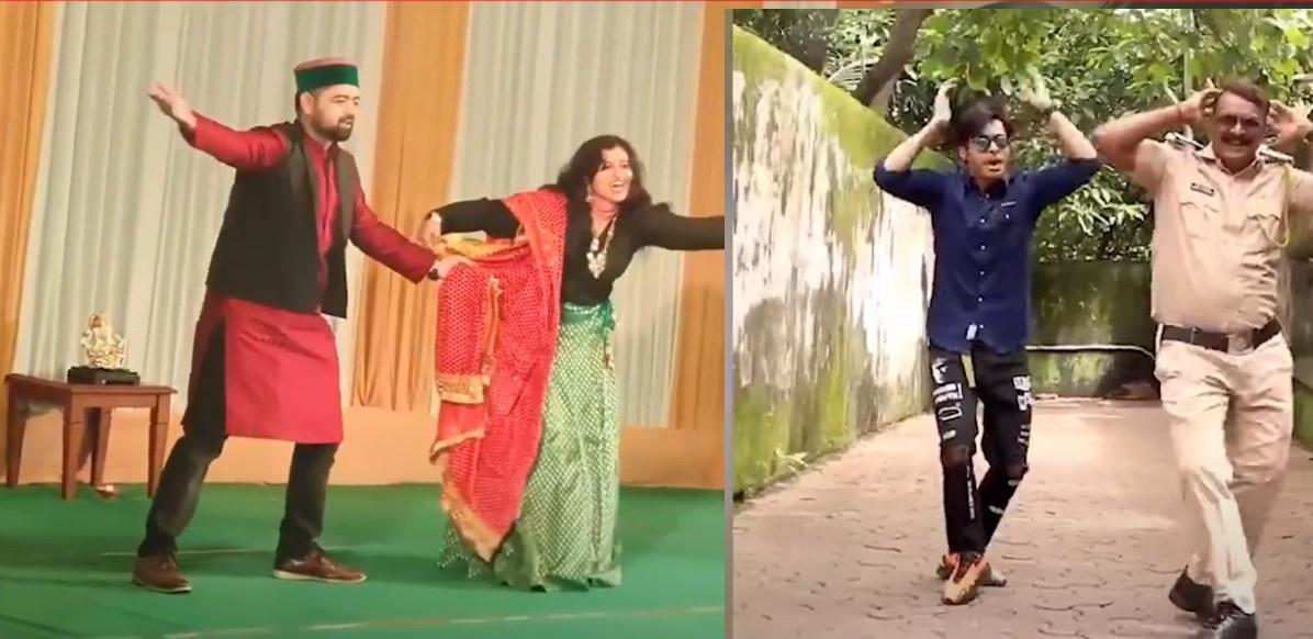 वर्दी धारियो के डांस वीडियो वायरल, उत्तराखंड की आईपीएस तृप्ती भट्ट तो मुंबई के पुलिस नायक अमोल कांबले अपने डांस से बने सोशल मीडिया स्टार