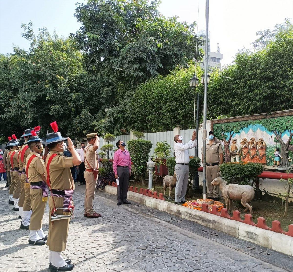 धूमधाम से मनाया गया नई दिल्ली स्थित उत्तराखण्ड सदन में 75वां स्वतंत्रता दिवस