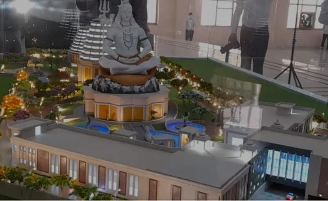 अब कान्हा की नगरी में हो सकेंगे महादेव धाम, राधा कृष्ण धाम, और शनिदेव धाम के दर्शन, चारों धाम के डिजाइन का हुआ अनावरण