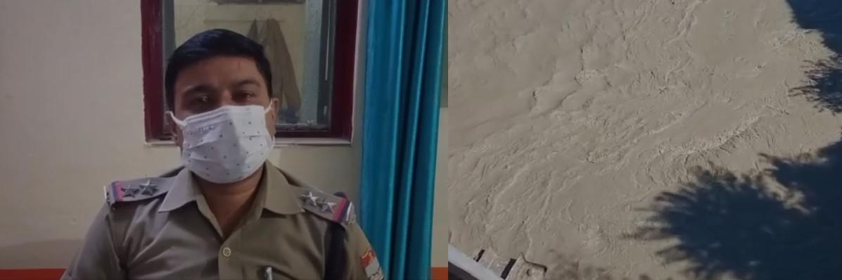 कीर्तिनगर : मैक्स वाहन से उतर सीधे अलकनंदा नदी में लगाई युवक ने छलांग, लोगों के उड़े होश, युवक की तलाश जारी
