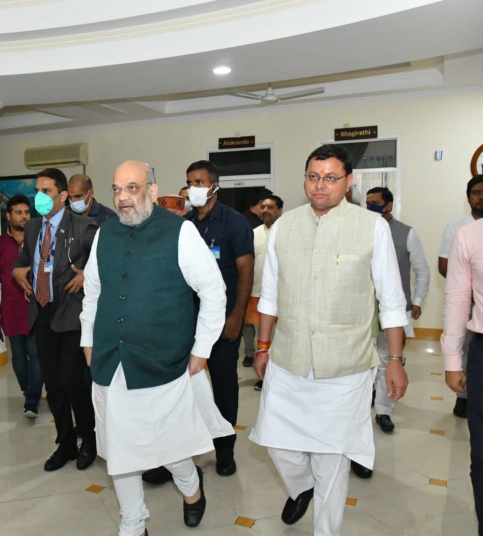 केन्द्रीय गृहमंत्री अमित शाह ने प्रदेश में आपदा की स्थिति का जायजा लिया, दिया हर संभव सहायता का भरोसा